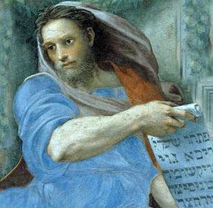 Raphael's Prophet Isaiah