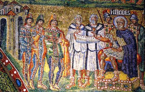 The Magi before Herod, 431, Santa Maria Maggiore