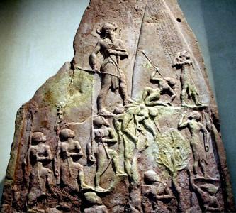 Akkadian victory stele, 2250 BCE