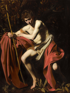 Caravaggio's John the Baptist