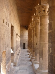 Collonnade, Temple of Isis, Philae