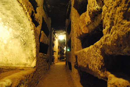 Catacomb of St Callisto, Rome. Photo by Jim Forest