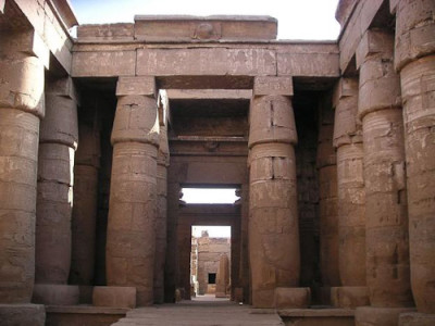Peristyle at Khonsu