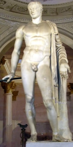 Ancient Roman statue of Pompey the Great