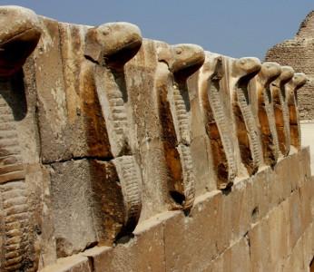 Uraei at Saqqara