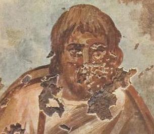 Jesus, Nunziatella catacomb