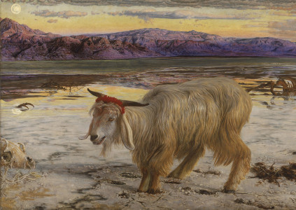 """The Scapegoat,"" by Wm Holman Hunt"