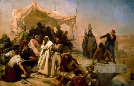 The Egyptian Expedition, Leon Cogniet, 1834
