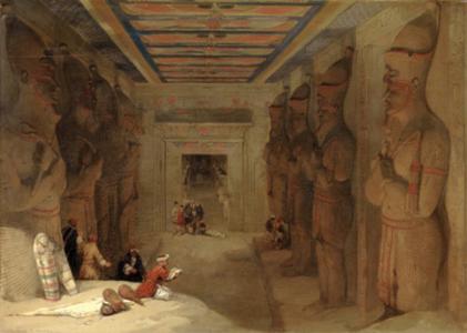 Abu Simbel, Hypostyle Hall