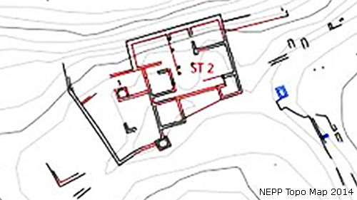 Plan of Structure 2, NEPP