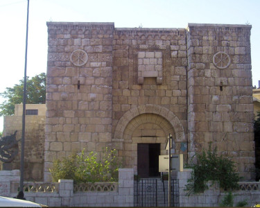 Bab Kisan, traditional site of Paul's escape
