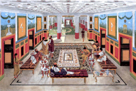 Reconstruction of Sepphoris Dionysos mansion