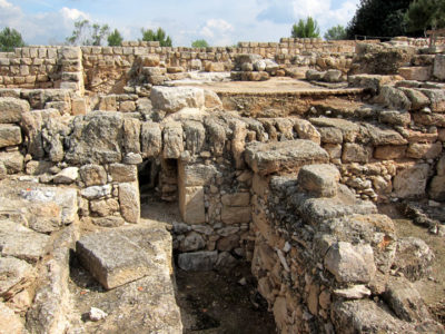 Remains of early 1st C Sepphoris