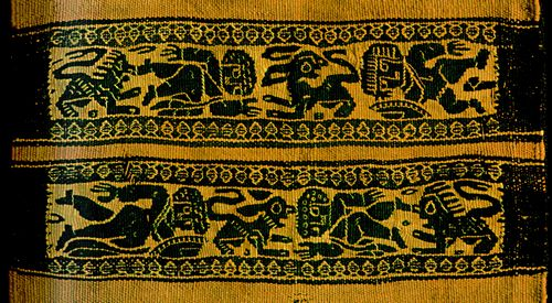 Sleeveband from 3rd C CE Mediterranean textile